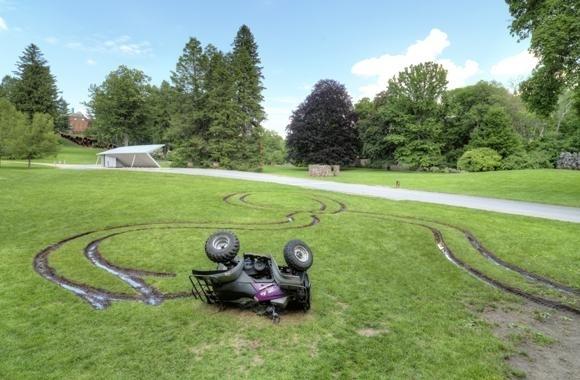 , '4 WHEELER ROLLOVER,' 2012, Mark Moore Fine Art