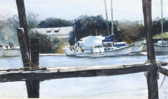 , 'Sebastian Docks  ,' , Greg Thompson Fine Art