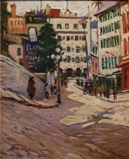 , 'Quebec City,' 1919, Mary Ran Gallery