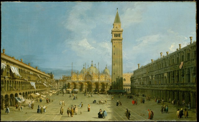 Canaletto, 'Piazza San Marco', late 1720s, The Metropolitan Museum of Art