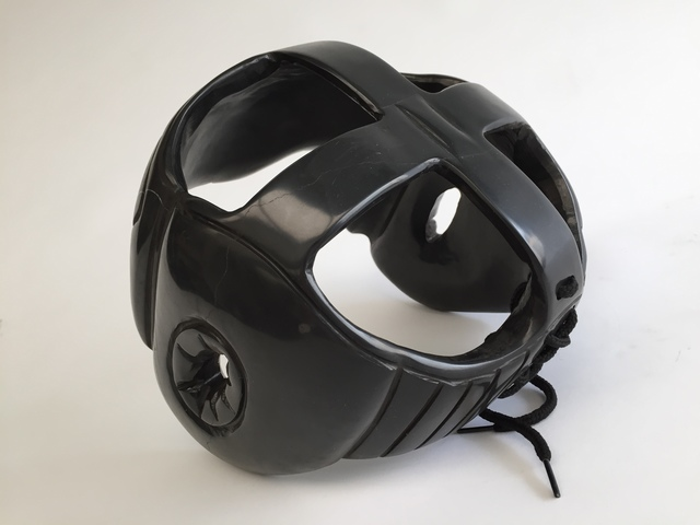 , 'Boxing Head Gear - Black Marble ,' 2016, DECORAZONgallery