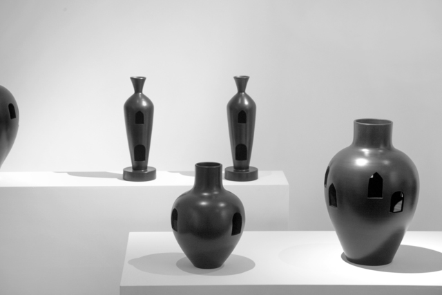 , 'Buccheri vases,' 2016, Giustini/Stagetti Galleria O. Roma