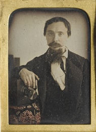 The English Daguerreotypist with a French Quarter-Plate Camera