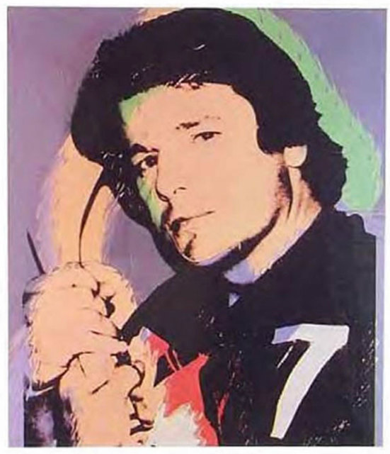 Andy Warhol, 'Rod Gilbert', 1977, Robert Fontaine Gallery