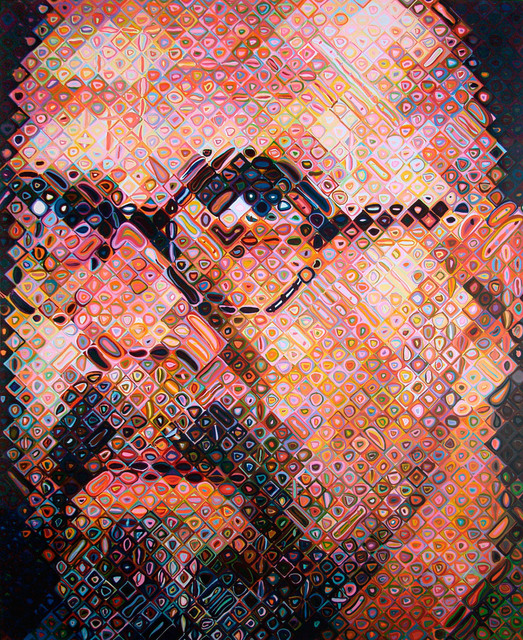 Chuck Close, 'Self Portrait', 2000, Adamson Gallery