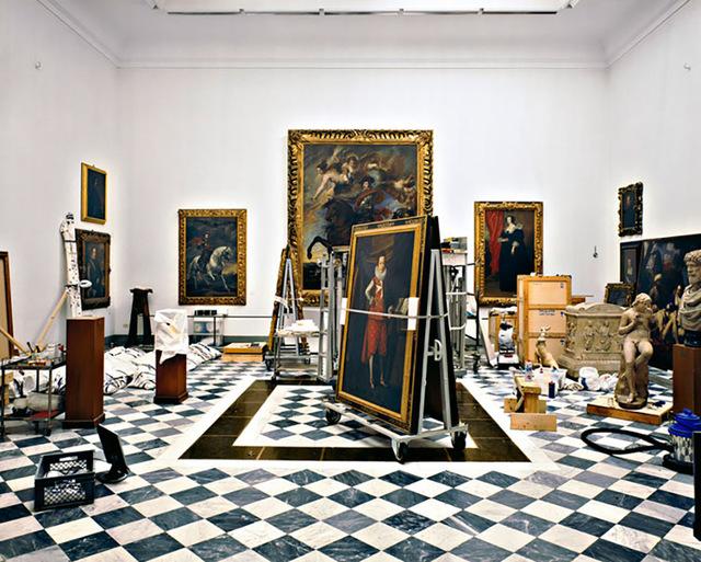 Massimo Listri, 'Galleria degli Uffizi, La sala della Controriforma, Firenze', 2008, IFAC Arts