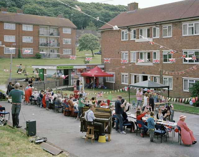 , 'Diamond Jubilee Celebration, Craven Vale Estate, Brighton, East Sussex, 2 June 2012,' 2012, Flowers