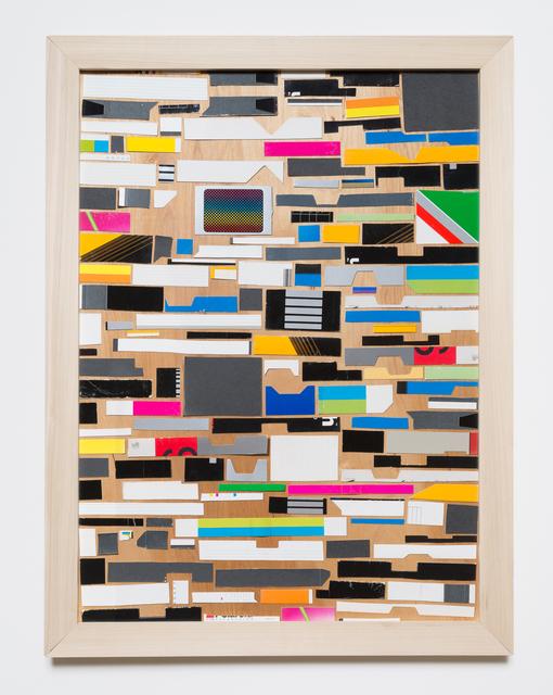 , 'VHS Boxes Collage #1,' 2017, Klowden Mann