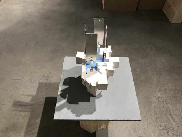 , 'Blue Pool,' 2016, Elizabeth Harris Gallery