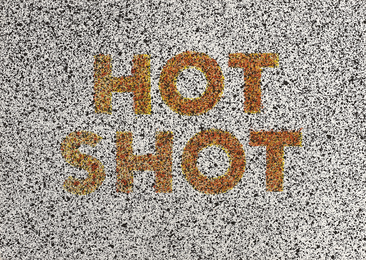 Ed Ruscha, 'Hot Shot, from 18 Small Prints,' 1973, Phillips: Evening and Day Editions