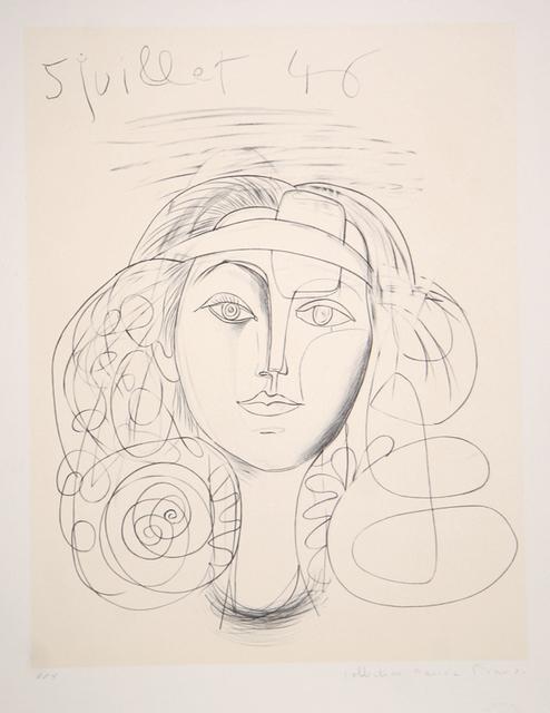 Pablo Picasso, 'Portrait de Femme. 1946', 1979-1982, RoGallery