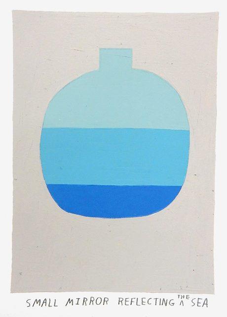, 'small mirror reflecting the sea,' 2017, Uprise Art