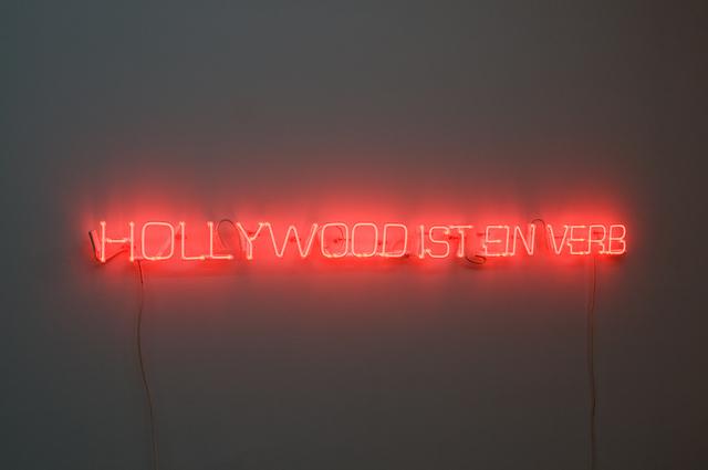 , 'Dennis Hopper (Hollywood ist ein Verb),' 2008, Galerie Mehdi Chouakri