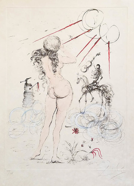 Salvador Dalí, 'Woman, Horse and Death', 1968, Galerie d'Orsay