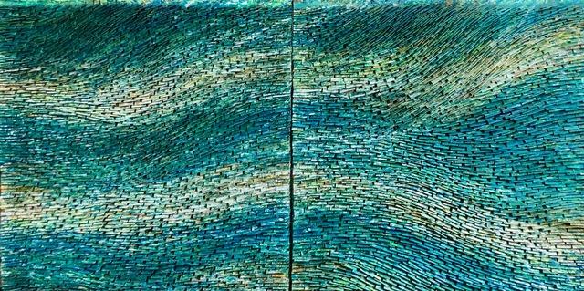 Pat McNabb Martin, 'Iridescence', 2010-2021, Painting, Cut canvas and mixed media, Avran Fine Art
