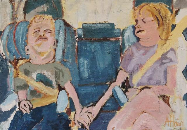 Alex Hain, 'Backseat nap', 2019, Castlegate House Gallery