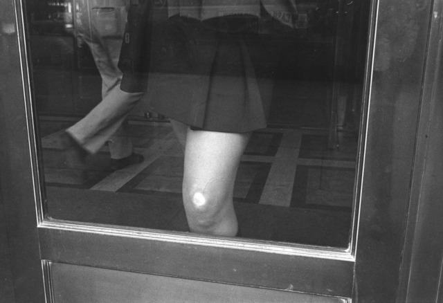 , 'Knee/Glass. Wilkes-Barre. May,' 1976, Danziger Gallery