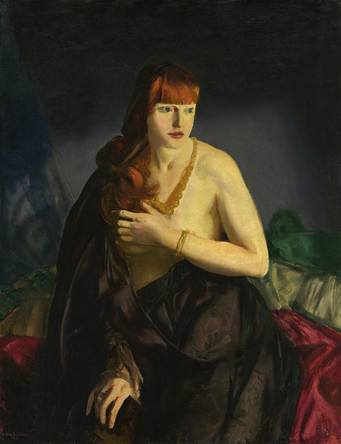 George Wesley Bellows, 'Nude with Red Hair', 1920, National Gallery of Art, Washington, D.C.