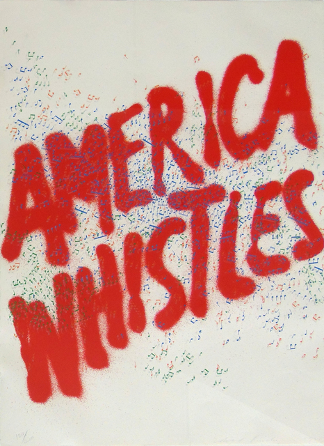 , 'America Whistles, from: America the 3rd Century,' 1975, Gilden's Art Gallery