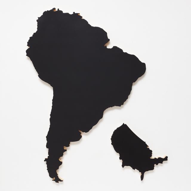 , 'AMERICA,' 2016, Carbono Galeria