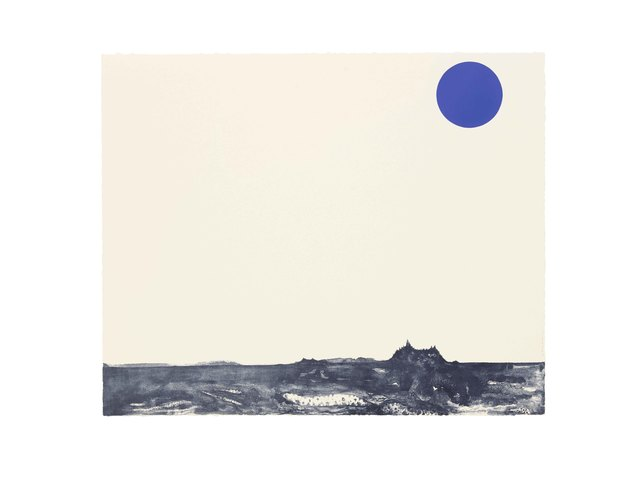 , 'Art History: Blue Moon #5,' 2015, STPI