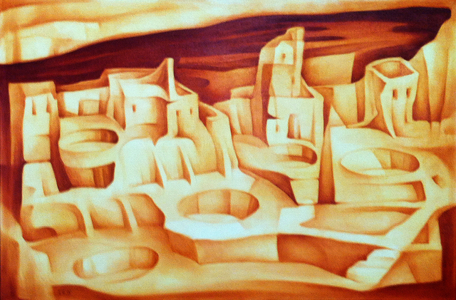 , 'Cliff Palace,' , Modernist Frontier