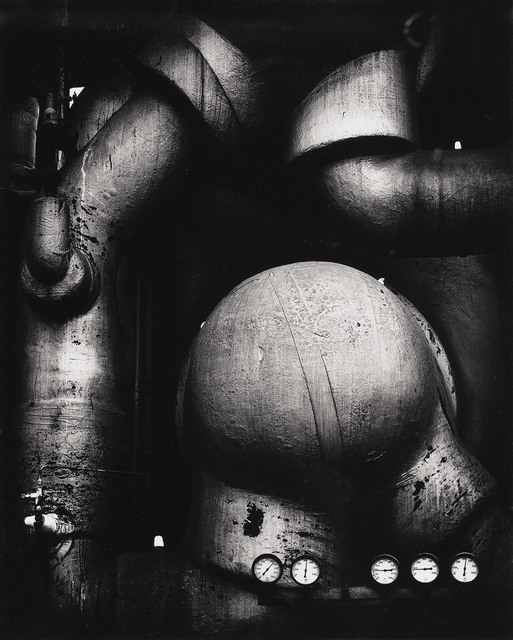 , 'Pipes and Gauges, West Virginia,' 1939 printed 1970, Scott Nichols Gallery