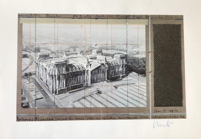 Christo, 'Wrapped Reichstag, Project for Berlin', 1994, Digard Auction