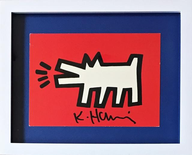 Keith Haring, 'Barking Dog (from the Estate of UACC President Cordelia Platt)', ca. 1990, Alpha 137 Gallery