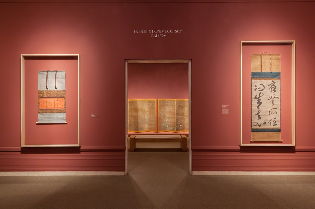 Installation view of Calligraphic Abstraction, 2015. Courtesy Seattle Art Museum.