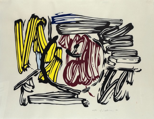 Roy Lichtenstein, 'Red and Yellow Apple', 1983, michael lisi / contemporary art
