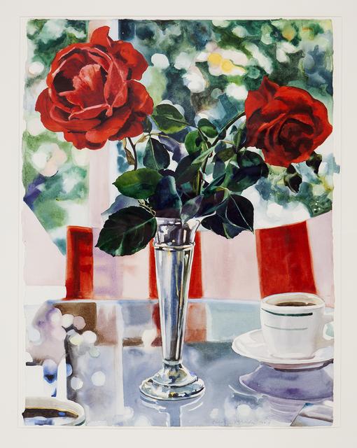 Carolyn Brady, 'Rose for M.C.', 1986, Painting, Watercolor on paper, Nancy Hoffman Gallery