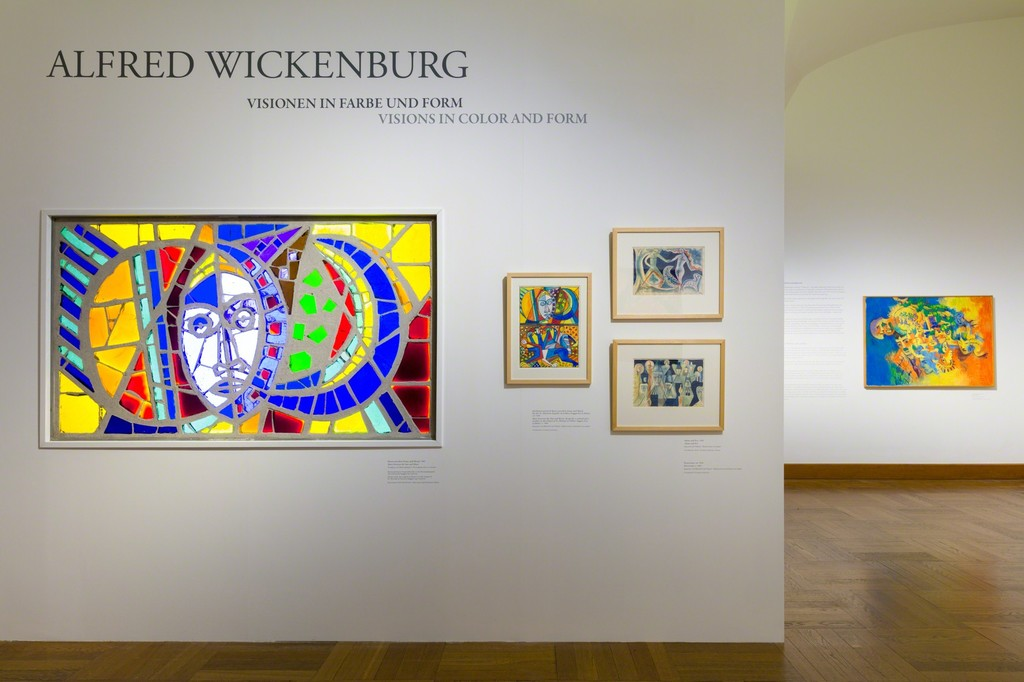 "Exhibition view ""Masterpieces in Focus: Alfred Wickenburg – Visions in Colour and Form"", © Belvedere, Vienna"