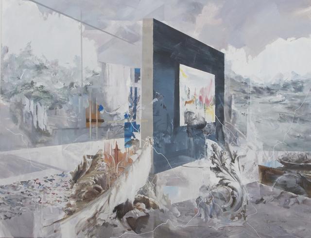 , 'Behind the Blue Wall,' 2016, Galerie Paris-Beijing