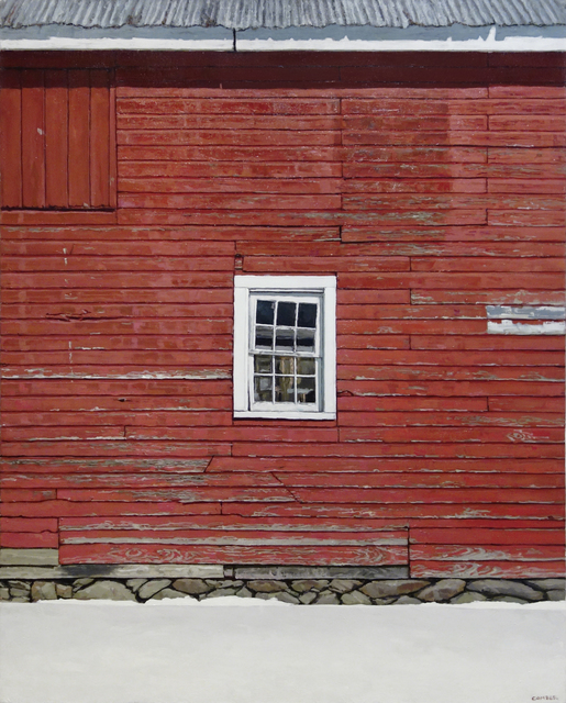, 'Red Barn Wall,' 2017, Gallery Henoch