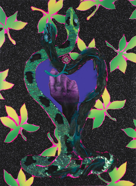 Devan Shimoyama, 'A Lover's Portal', 2017, Joyce Varvatos