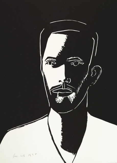 , 'Daniel (Black & White),' 2016, Meyerovich Gallery