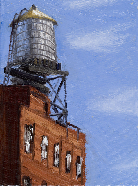 , 'Sunlit Water Tower,' 2006, Susan Eley Fine Art