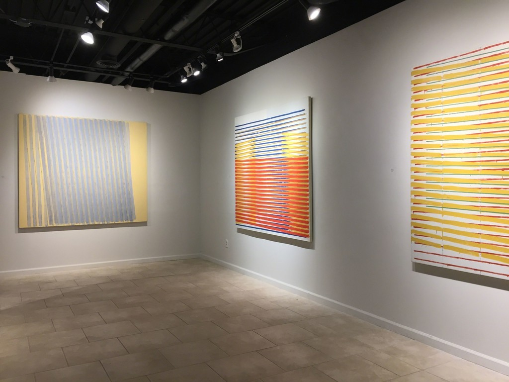 Anthony Greco: Paintings from the 1970 Left to Right: 314/Nineteen (1977), 314/Fourteen (1976), 314/Twelve (1976)