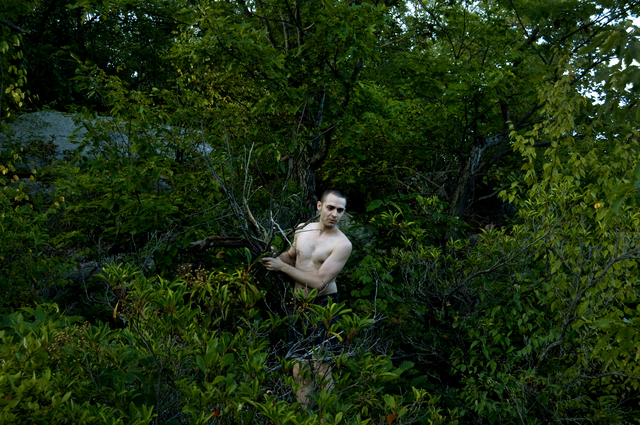 , 'Andy in the Woods,' 2014, Postmasters Gallery