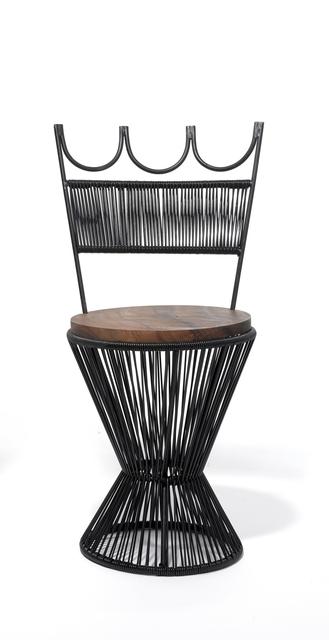 , 'Queen Chair - Black,' 2016, kinder MODERN