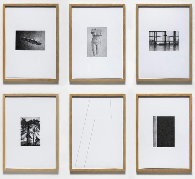 , 'fragile 1-6,' 2018, VILTIN Gallery