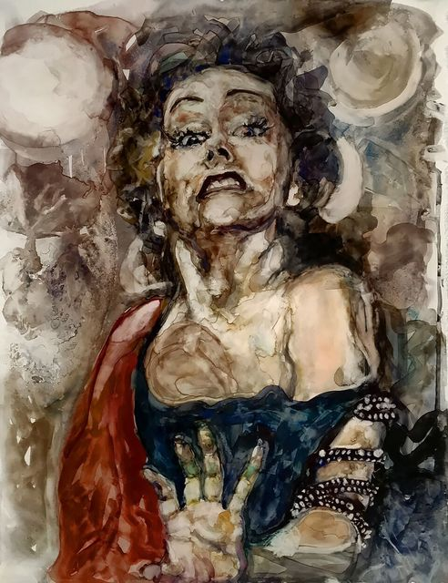 ", '""I am big, it's the pictures that got small."" -- Gloria Swanson,' 2017, Ro2 Art"