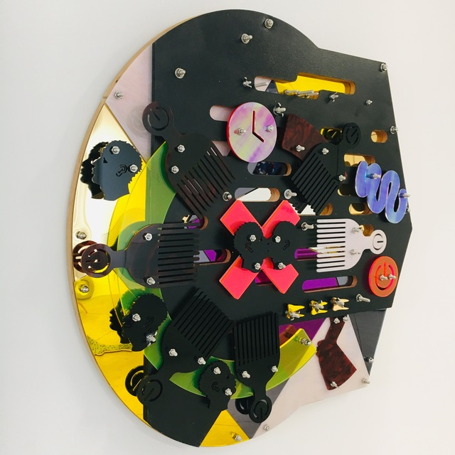 , 'Tribunal (Blackamoors Collage #148),' 2018, LatchKey Gallery
