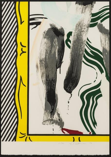 Roy Lichtenstein, 'Against Apartheid (Corlett 200)', 1983, Forum Auctions