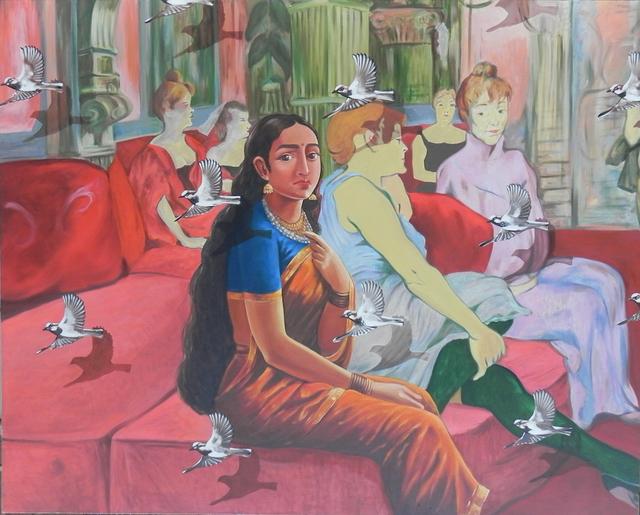 , 'Confluence- 5,' 2017, Arushi Arts