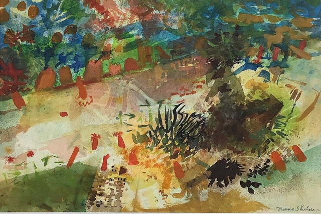 , 'Tidal Pool Abstraction,' ca. 1953, Lawrence Fine Art