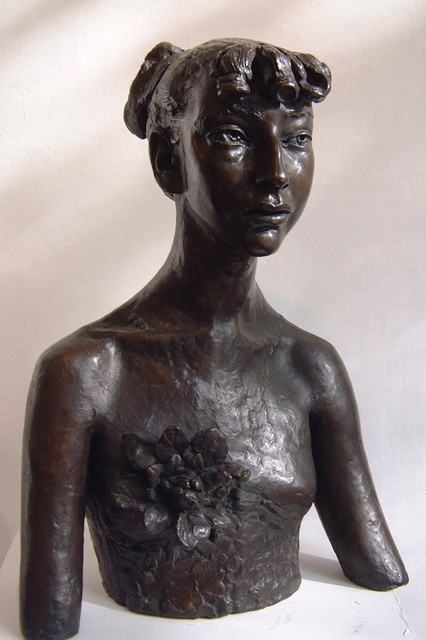 , 'Third Portrait of Esther (with Flower),' 1949, Boundary Gallery