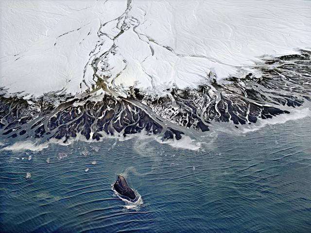 Henrik Saxgren, 'Alluvial Plain with Island', 2016, Hans Alf Gallery
