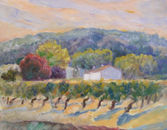 , 'Vines at Sunset,' , InLiquid